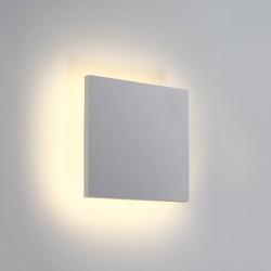One Light plafon LED kwadratowy podświetlający ścianę Prevedos 67450A/W/W IP54