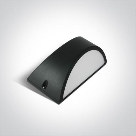 One Light kinkiet LED nowoczesny design antracyt Oleni 67474/AN/W IP54