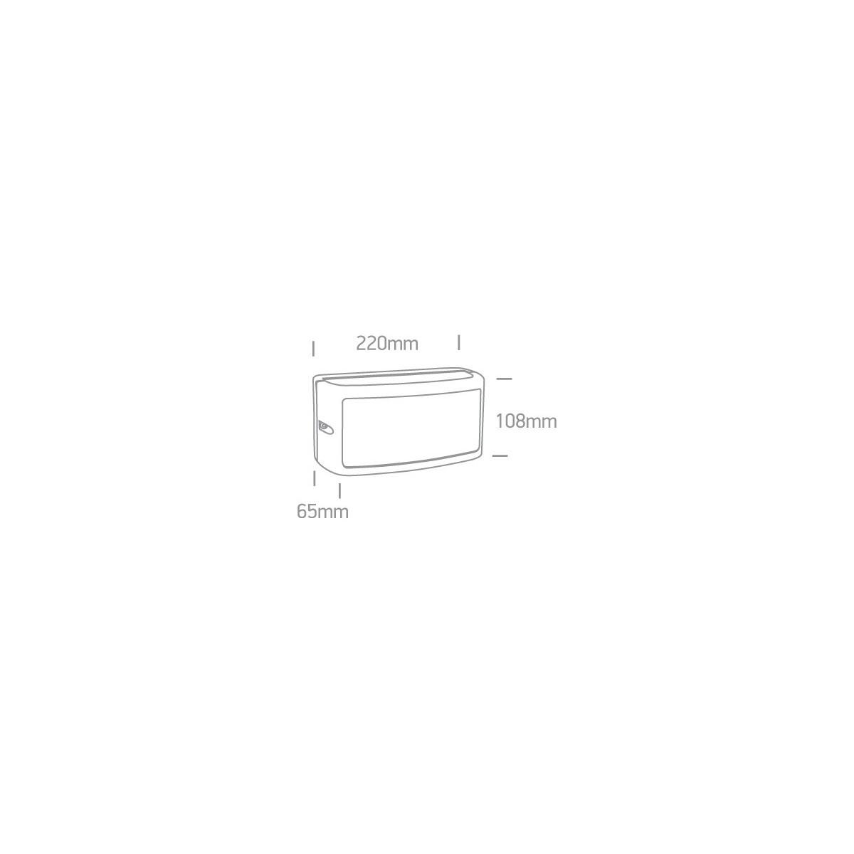 One Light kinkiet ścienny LED zewnętrzny dom elewacja mieszkanie Strefi 67474A/AN/W IP54