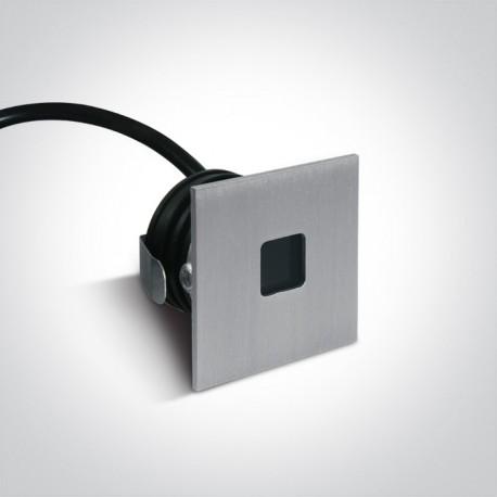 One Light wpust LED do oświetlenia korytarza chodnika Ladiko 68004A/AL/W IP54