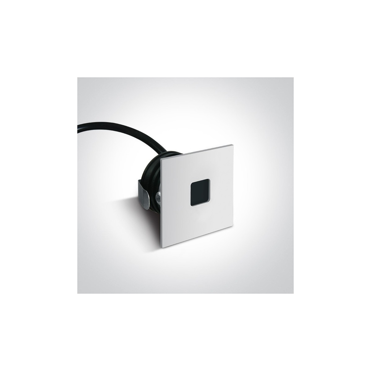 One Light wpust LED do oświetlenia korytarza chodnika Ladiko 68004A/W/W IP54