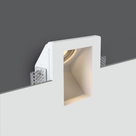 One Light wpust do zabudowy biały oświetlenie korytarz schody Bakari 68054