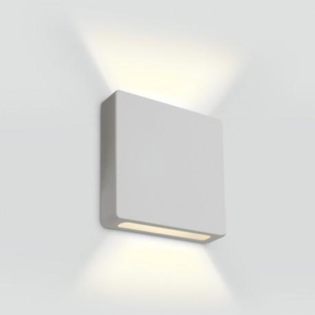 One Light wpust LED ścienny biały góra dół korytarz schody Stavri 2 68074B/W/W IP65