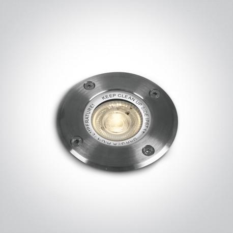 One Light wpust ze stali nierdzewnej 35W łazienka ogród basen Demiri 69006G IP67