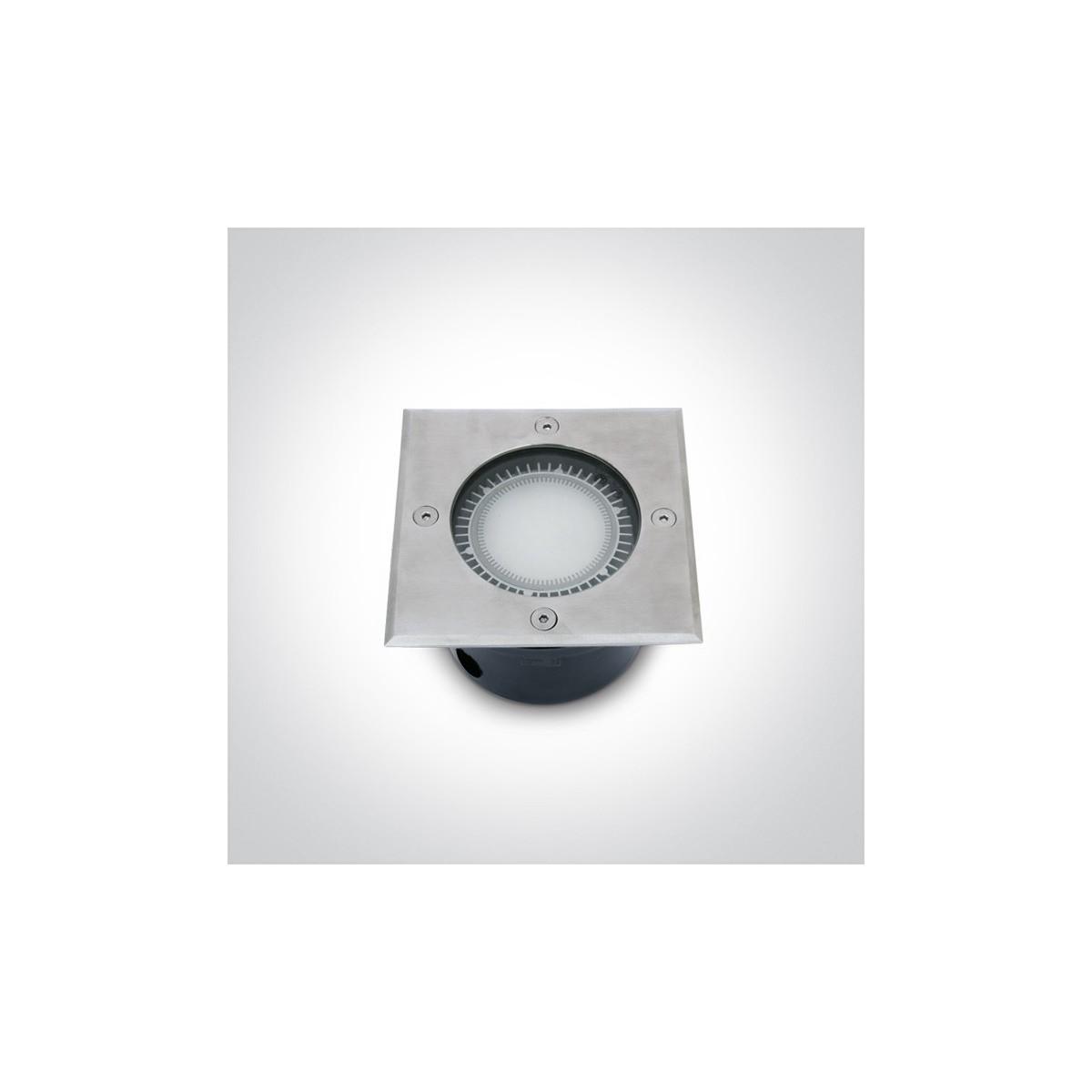 One Light wpust kwadratowy ze stali nierdzewnej Kandalos 69008 IP67