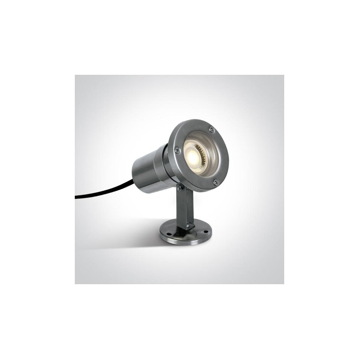 One Light reflektor ogrodowy ze stali nierdzewnej Platsa 7008A IP65