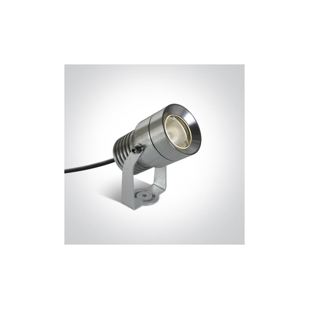 One Light reflektor aluminiowy do ogrodu Moulin 7046/AL/W IP65