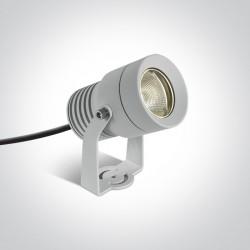 One Light reflektor biały do ogrodu Moulin 7046/W/W IP65