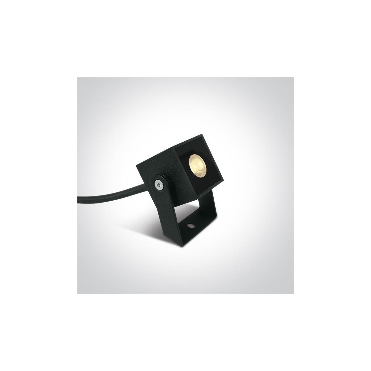 One Light reflektor LED do oświetlenia ogrodu Vanzone 7052B/AN/W IP65