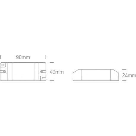 One Light zasilacz LED 700mA 3,5-6W