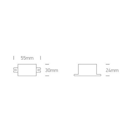 One Light zasilacz LED 700mA/opraw 1,5-6W