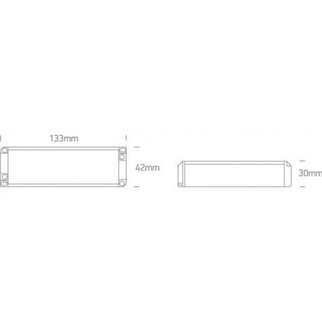 One Light ściemnialany zasilacz LED 700mA/opraw LED 7-15W
