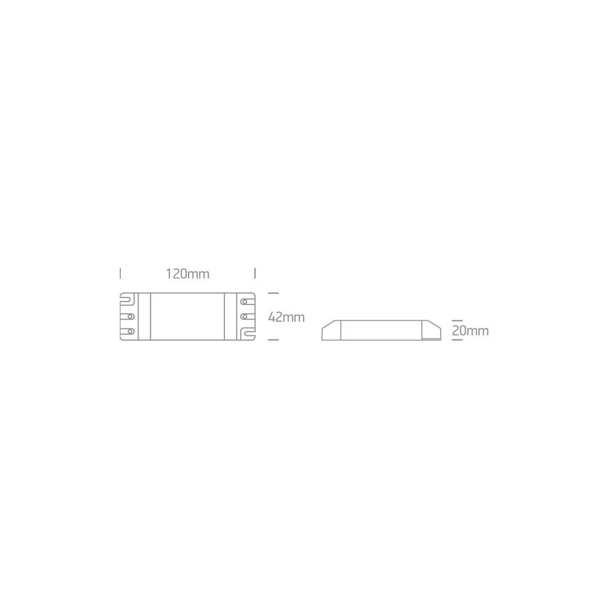 One Light zasilacz LED 350mA/opraw LED 13-20W