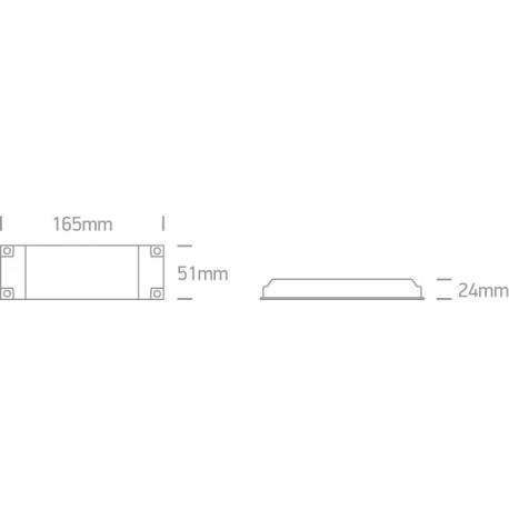 One Light zasilacz LED 500mA/opraw LED 14-28W