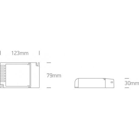 One Light zasilacz LED dali/push to dimm 1-10V
