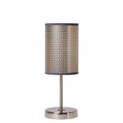 Lucide MODA stołowa 1xE27 D13 H37cm srebrna 08500/81/36