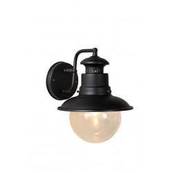 Lucide FIGO kinkiet IP44 E27 L24 W21 H27cm czarny 11811/01/30