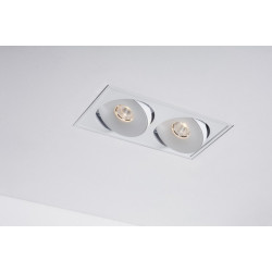 Labra LAVA X2 WP 2x7.5W ściemnianie Switch DALI Trimless edge.LED 4-1064 Wpust