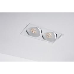 Labra LAVA X2 WP 2x13W ściemnianie fazowe Trimless edge.LED 4-1065 Wpust