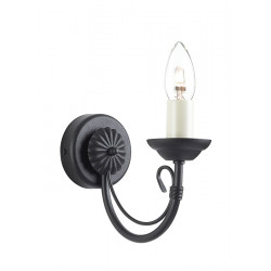 Elstead Lighting Interior Kinkiet CHARTWELL 1x60W E14 CH1 BLACK