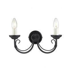 Elstead Lighting Interior Kinkiet CHARTWELL 2x60W E14 CH2 BLACK