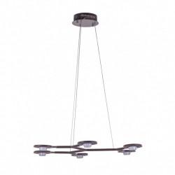 ITALUX Kresyda 6x3,6W LED 230V Brązowy MAT AD16014-6A Wisząca