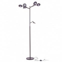 ITALUX Kresyda 6x3,6W LED 230V Brązowy MAT AL16014-6A Podłogowa