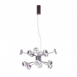 ITALUX Metis 16x4,8W LED 230V Brązowy MAT AD16002-16A Wisząca
