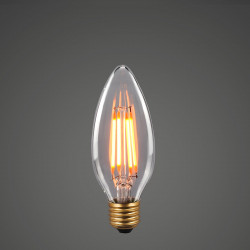 ITALUX E27 Retro LED bulb 35mm 6W E27 2200K 350-380lm 380635