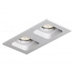Mistic Lighting DOUBLE QUAD QR111 Matt Biały 2xQR111 50W G53 12V MSTC-05355520 Wpust