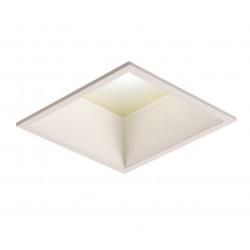 Mistic Lighting SQUARE 22W LED IP44 Matt Biały MSTC-05411110 Wpust