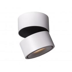 Mistic Lighting BROKEN 9W LED Matt Biały/Czarny MSTC-05411010 Sufitowa