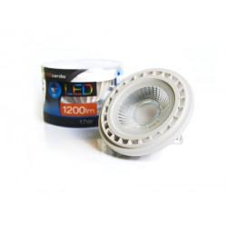 Azzardo Żarówka LED AR111 WH 17W G53 12V 4300K Neutralna Biały LL253171