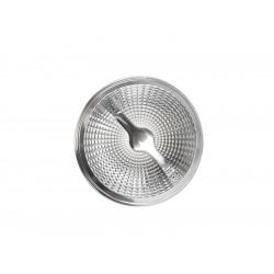 Azzardo Żarówka LED AR111 15W G53 12V 24° 3000K Ściemnialna Ciepła Biały Chrom LL153152