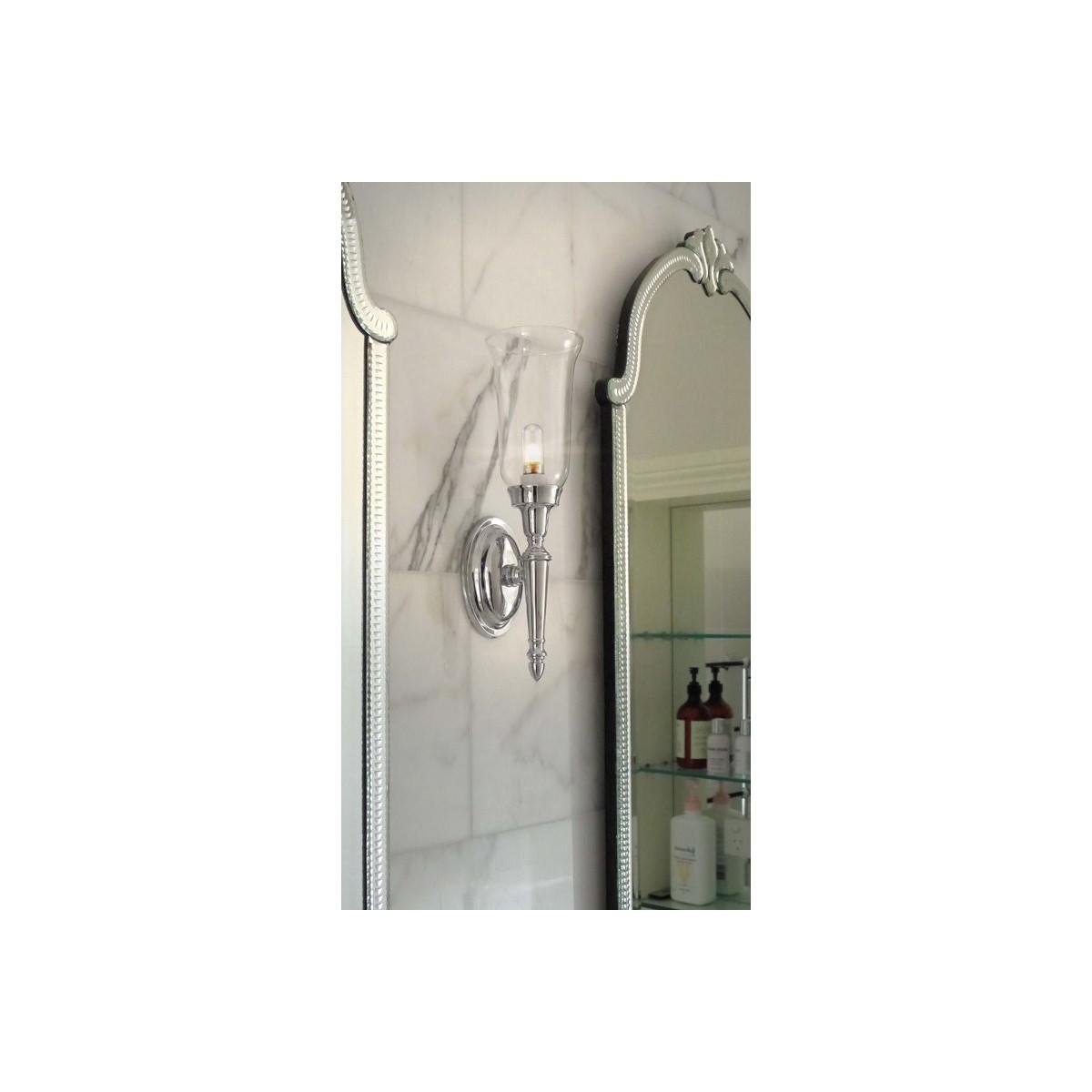 Elstead Lighting Interior Kinkiet ŁAZIENKOWY DRYDEN2 1x40W G9 BATH/DRYDEN2 PC