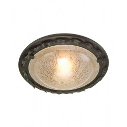 Elstead Lighting Interior PLAFON OLIVIA 1x60W E27 OV/F BLK/GOLD