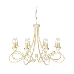 Elstead Lighting Interior Wisząca OLIVIA 8x60W E27 OV8 IVORY/GOLD