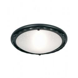 Elstead Lighting Interior PLAFON PEMBROKE 1x100W E27 PB/F/B BLACK