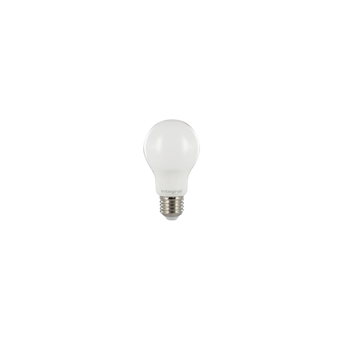 Integral LED E27 Classic globe 9.5W 2700K 806lm 15-66-74