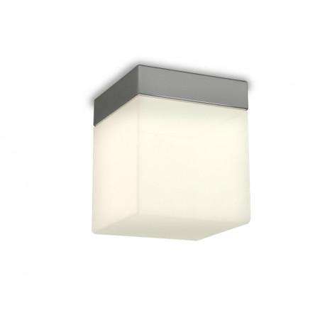 Azzardo MIL 1xLED Sufitowa Biały/Chrom IP44 AZ2067
