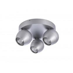 AZzardo PERA 3 Round 3xGU10 Aluminium AZ1253