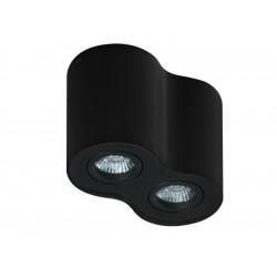 AZzardo BROSS 2 BK/BK (LED GRATIS) Czarny AZ2136 Sufitowa