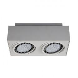 Zuma Line BOXY CL 2 Biały 2xGU10/AR111 Sufitowa 20075-WH