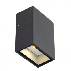 SPOTLINE/SLV QUAD 70 LED 4,6W IP44 Kinkiet Antracyt 232465