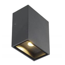 SPOTLINE/SLV QUAD 90 LED 4,5W IP44 Kinkiet Antracyt 232435