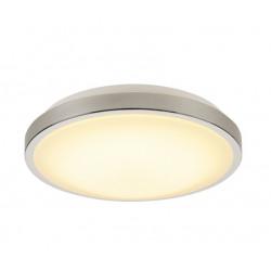 SPOTLINE/SLV MARONA LED 15W Plafon Metal Szczotkowany 155156
