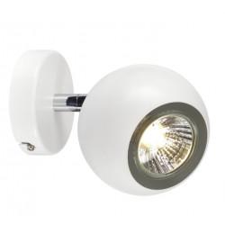 SPOTLINE/SLV LIGHT EYE 90 1xGU10 Kinkiet/Sufitowa Biały, Chrom 149061