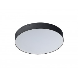 AZzardo MONZA R 40 LED 50W 4000K Czarny Plafon SHR674000-50-BK