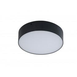 AZzardo MONZA R 22 LED 20W 4000K Czarny Plafon SHR654000-20-BK