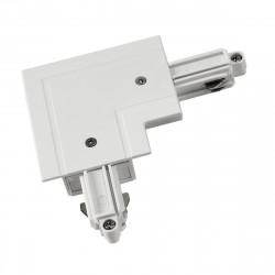 SPOTLINE/SLV Łącznik narożny do 1-fazowej szyny podtynkowej 143251